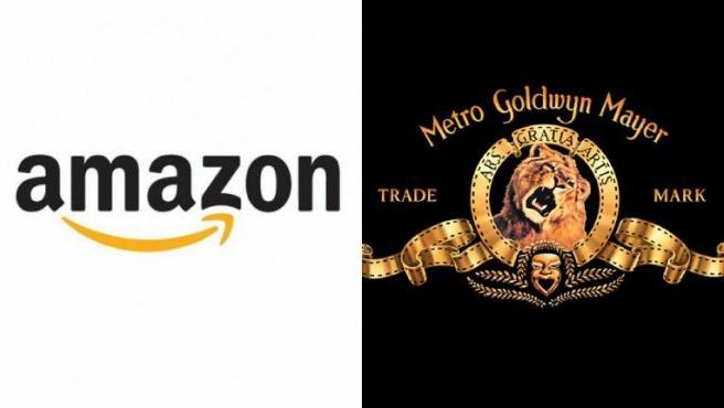 Logos de Amazon y MGM