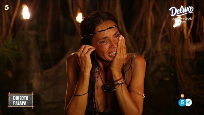 Olga Moreno, en 'Supervivientes 2021'.