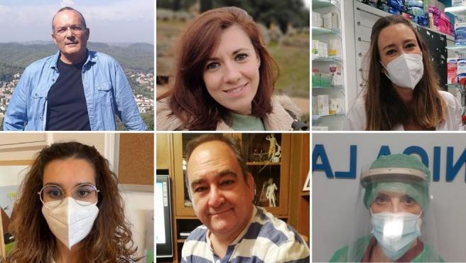 Gabriel, Rocío, Marta, Natalia, Paco y Mónica son solo algunos de los millones de vacunados con una sola dosis de AstraZeneca en España.