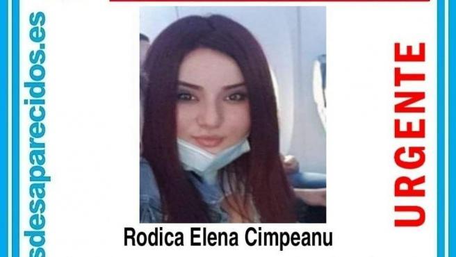 Foto de una de las desaparecidas SOS DESPARECIDOS 27/5/2021