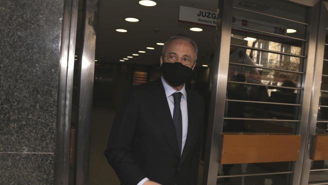 Florentino Pérez, president of Real Madrid