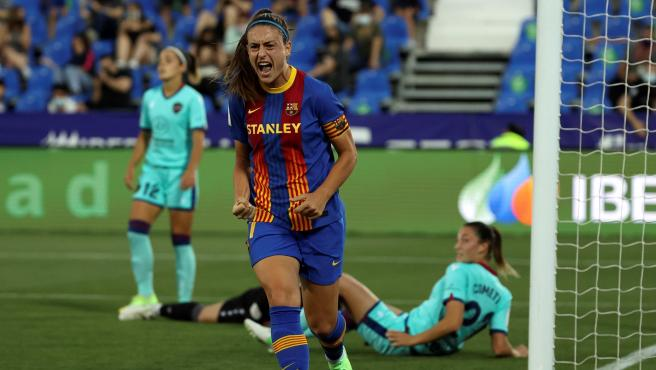 Alexia Putellas, during the final of the Queen's Cup