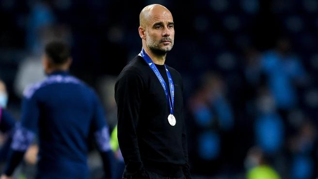Pep Guardiola, in the Champions League final