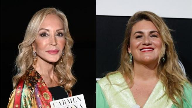 Carmen Lomana y Carlota Corredera.