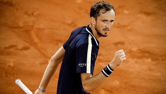 Daniil Medvedev, en Roland Garros