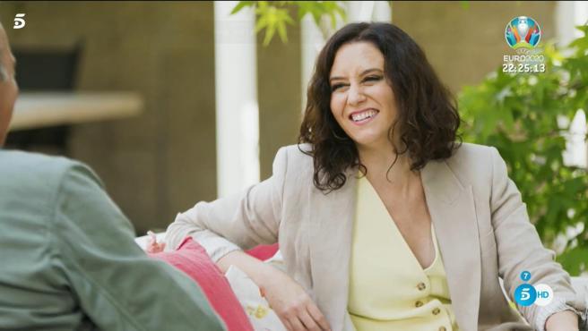 Isabel Díaz Ayuso, en 'Mi casa es la tuya'.