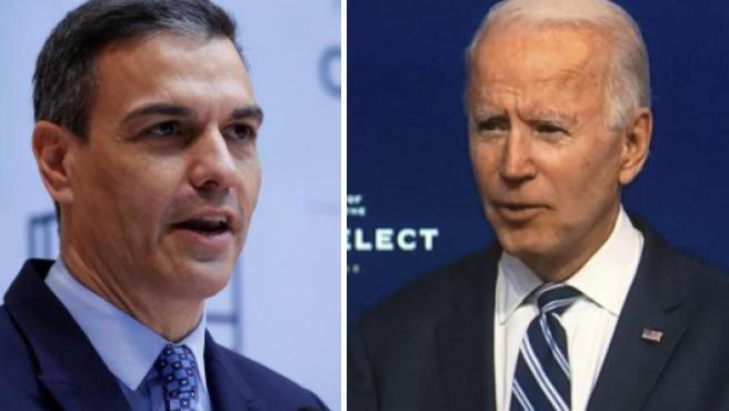 Sanchez y Biden
