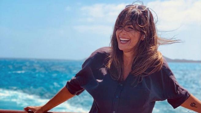Nuria Roca en Fuerteventura antes de representar 'La Gran Depresión' junto a Antonia San Juan.