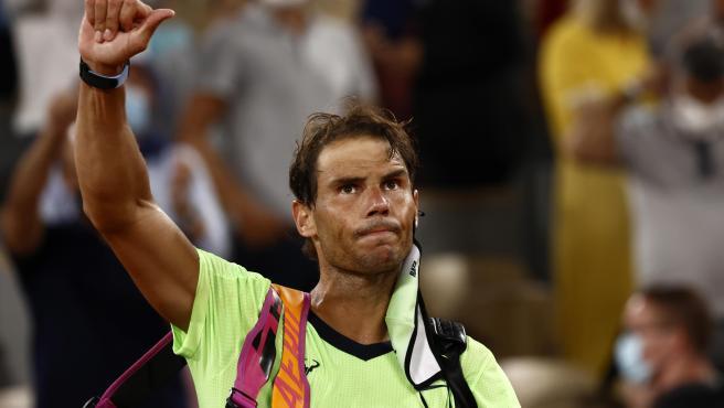 Rafa Nadal se despide de Roland Garros