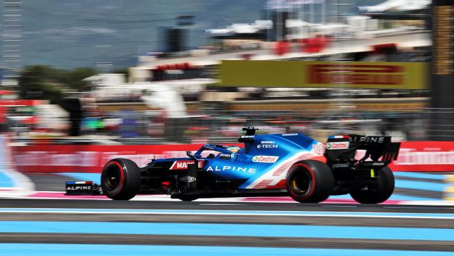 Fernando Alonso, during the free practice of the French GP