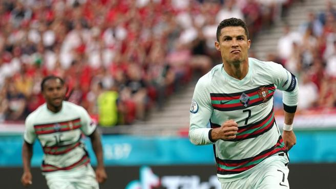 Cristiano Ronaldo, in the Eurocup.