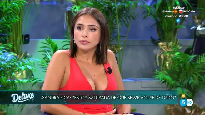 Sandra Pica, en 'Viernes Deluxe'.