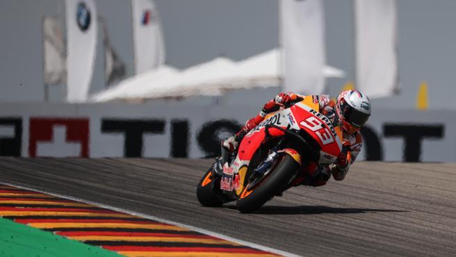 Marc Márquez, during the MotoGP German GP