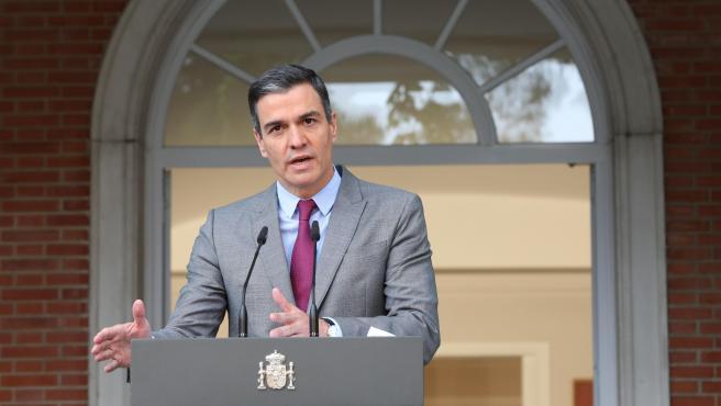 Pedro Sánchez anuncia los indultos a los nueve presos independentistas.
