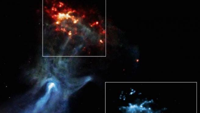 MSH 15-52 Mano cósmica golpeando un muro CHANDRA X-RAY OBSERVATORY 25/6/2021
