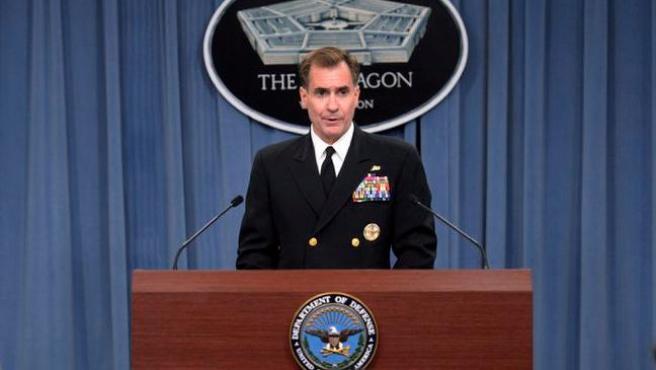 El portavoz del Pentágono, John Kirby.