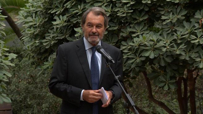"""Artur Mas acusa al Estado de buscar """"la muerte civil y política"""" de exaltos cargos"""