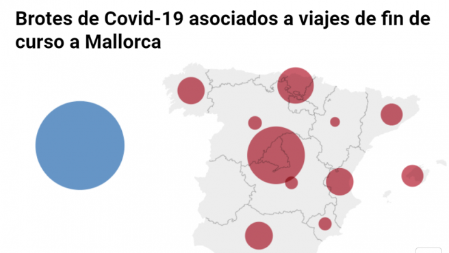 Macrobrote en Mallorca.