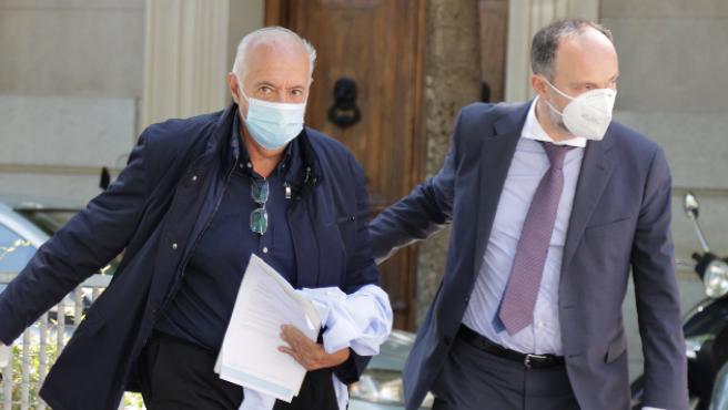 José Luis Moreno, a su salida de la Audiencia Nacional.