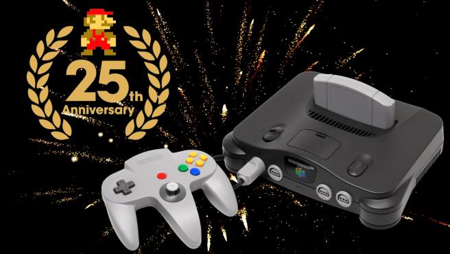 El juego de Super Mario 64 salió también el 23 de junio del 96.