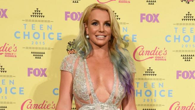 Britney Spears, durante una entrega de premios en Los Ángeles, en 2015.
