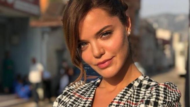 La actriz Hilal Altınbilek.