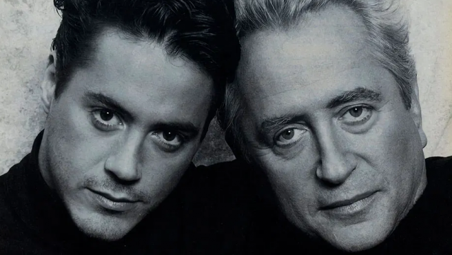 Robert Downey Jr. y su padre, Robert Downey Sr.