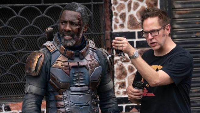 Idris Elba y James Gunn