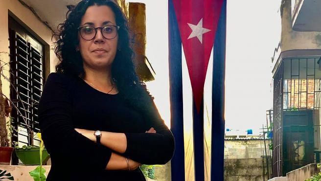 La periodista cubana Camila Acosta.