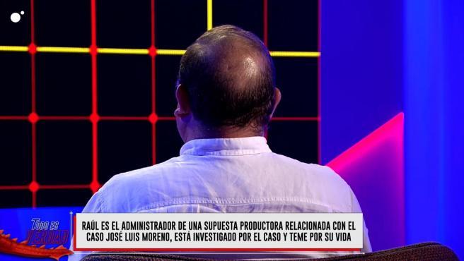 Raúl, uno de los nombres que aparece en el auto del 'caso Títere'.