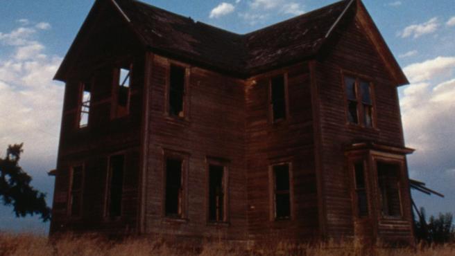 Imagen de archivo de una casa abandonada.