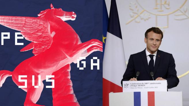 Uno de los números de teléfono que emplea el presidente de Francia ha sido el objetivo de Pegasus.
