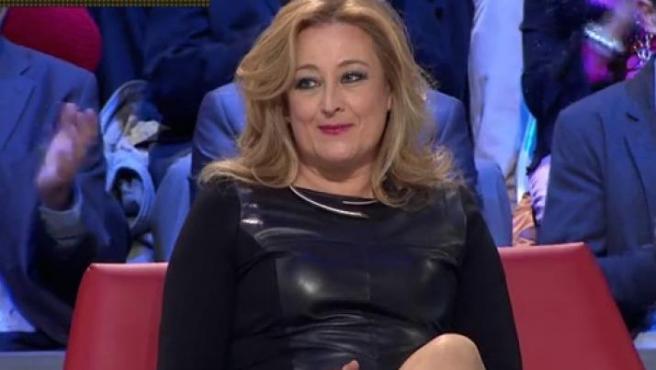 La periodista Elisa Beni en 'laSexta noche'.