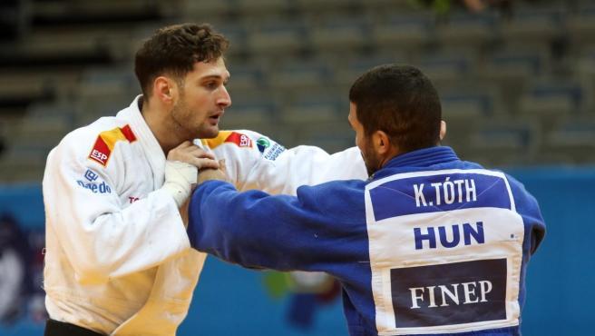 El judoka Niko Sherazadishvili representa a España en los Juegos de Tokio en la categoría de -90Kg.