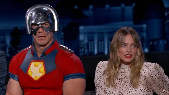John Cena y Margot Robbie