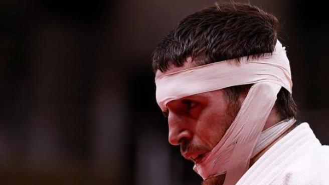 Martín Gaitero en judo