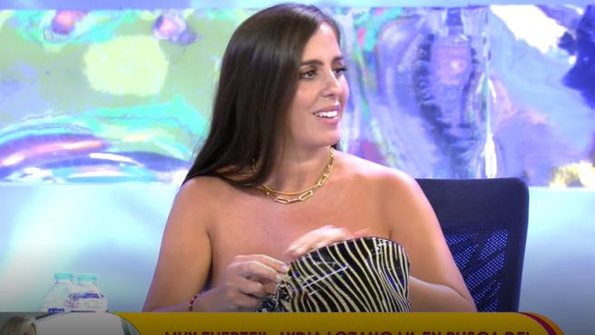 Anabel Pantoja, en 'Sálvame'.