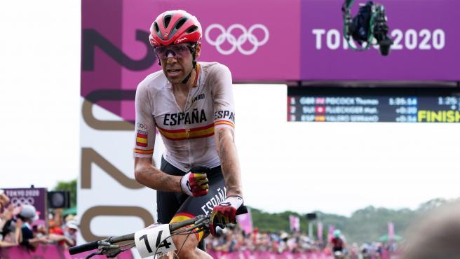 David Valero, medalla de bronce en ciclismo de montaña en Tokio 2020