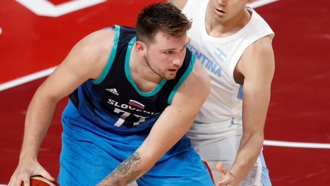 Luka Doncic ante Argentina