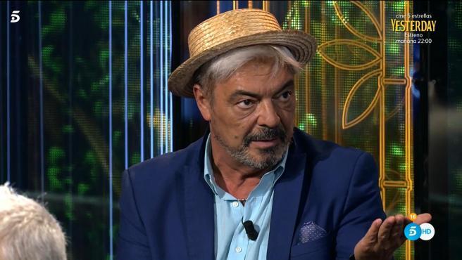 Antonio Canales, en 'Supervivientes'.