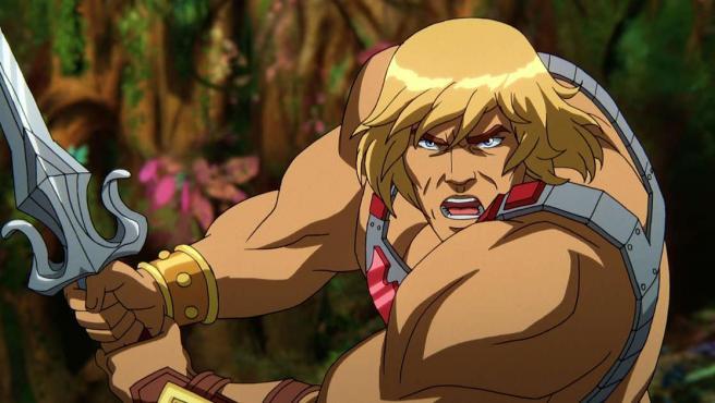 He-Man en 'Masters del Universo: Revelación'.