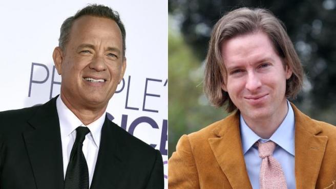Tom Hanks y Wes Anderson