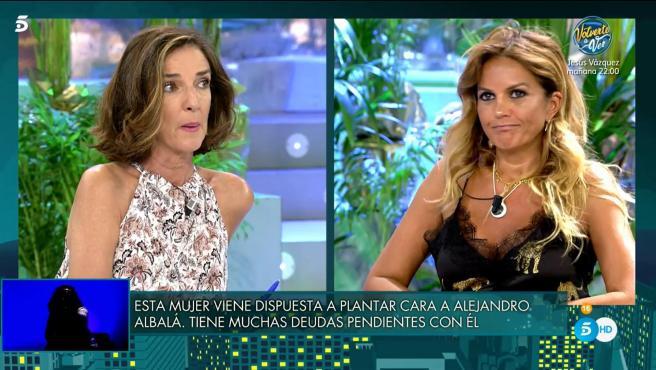 Paloma García-Pelayo y Marta López, en 'Viernes Deluxe'.