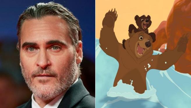 Joaquin Phoenix, fotograma de 'Hermano oso'