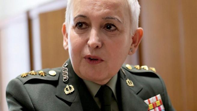 Begoña Aramendía, segunda mujer que asciende a general en España.