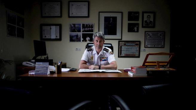 Pedro Agudo, comisario jefe de la Brigada Provincial de la Policía Judicial de A Coruña