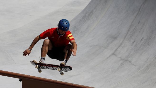 Jaime Mateu, skater español