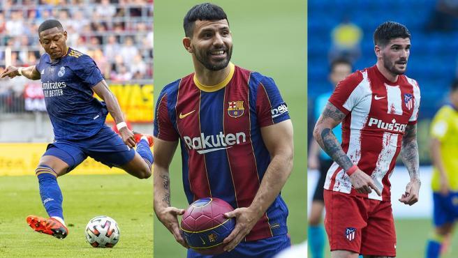 Alaba, Agüero y Rodrigo de Paul, algunas de las nuevas incorporaciones a LaLiga.