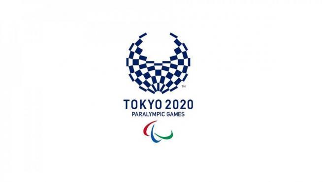 El logotipo oficial de los Juegos Paralímpicos de Tokio 2020.