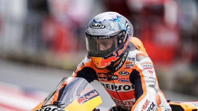 Pol Espargaró, en el GP de Gran Bretaña.